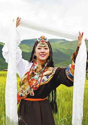 祝福西藏广场舞